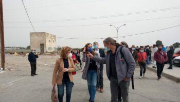 La luz como un derecho, no como un privilegio… En El Puche (Almería) viven personas
