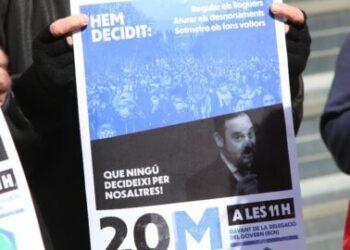 Llaman a movilizarse ante las delegaciones del Gobierno en Catalunya el 20 de marzo para exigir que la futura ley de vivienda pare desahucios y regule alquileres