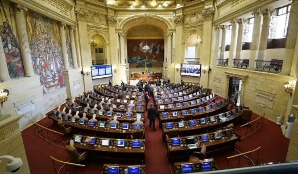 Congreso colombiano rechaza prorrogar mandato de Iván Duque