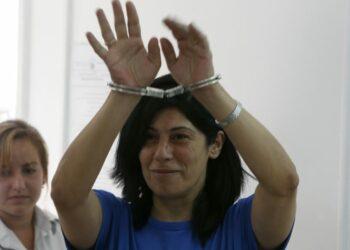 Libertad para la diputada comunista palestina Khalida Jarrar