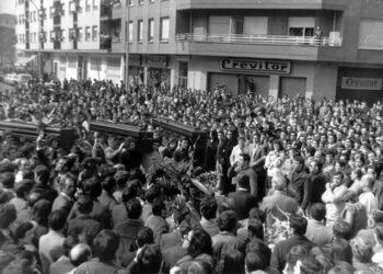El PCE–EPK recordará a los asesinados el 3 de Marzo en Gasteiz en una ofrenda floral junto a representantes de Elkarrekin Podemos-IU y llama a la unidad de la clase trabajadora
