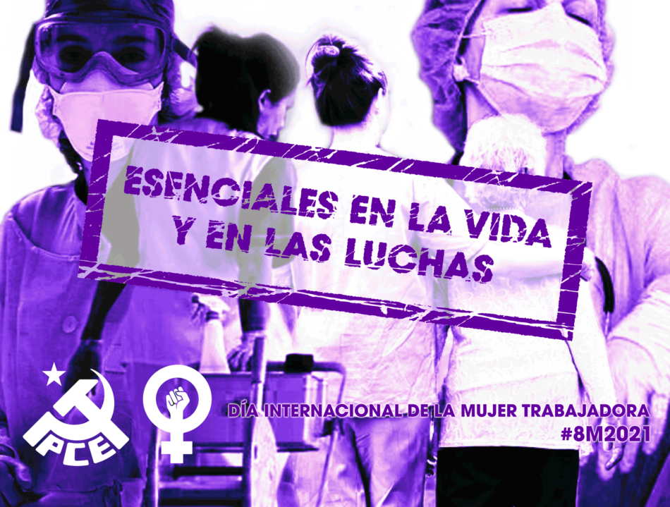 Manifiesto del PCE ante el 8 de marzo, Día Internacional de las mujeres trabajadoras