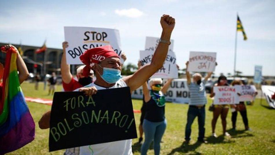 Convocan a marchas en Brasil contra el golpe militar de 1964