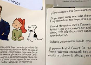 """La Asociación Vecinal de Tres Cantos pide la retirada de un cuento infantil editado por el Ayuntamiento por ser un """"pasquín"""" de propaganda política"""