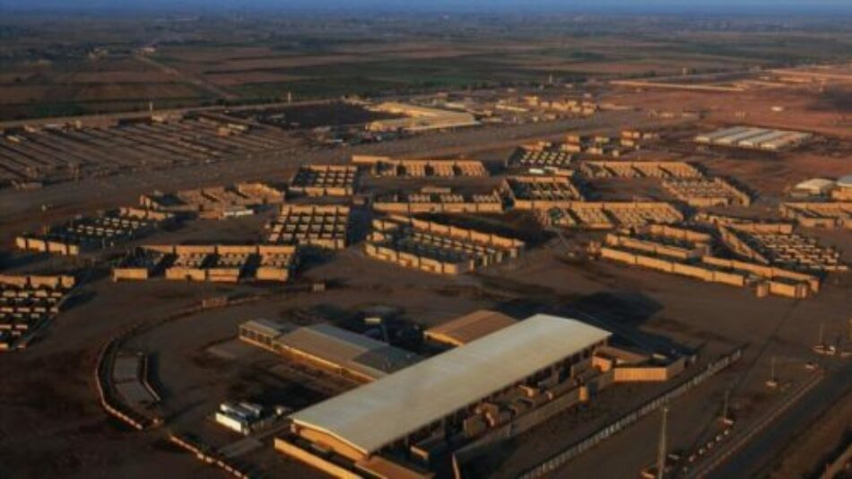 Ataque con cohetes contra la base estadounidense de Balad (Iraq)
