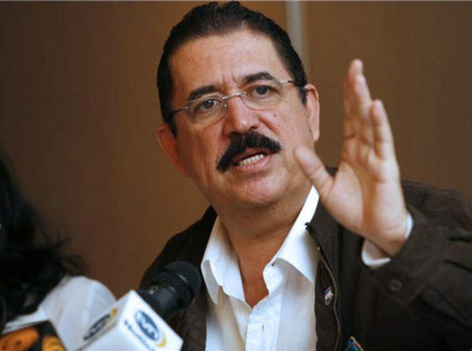 Honduras. Manuel Zelaya: «EE.UU. impuso al dictador Hernández en la presidencia»