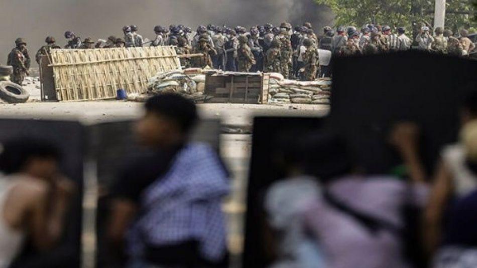 Aumenta a 510 la cifra de muertos por represión en Myanmar