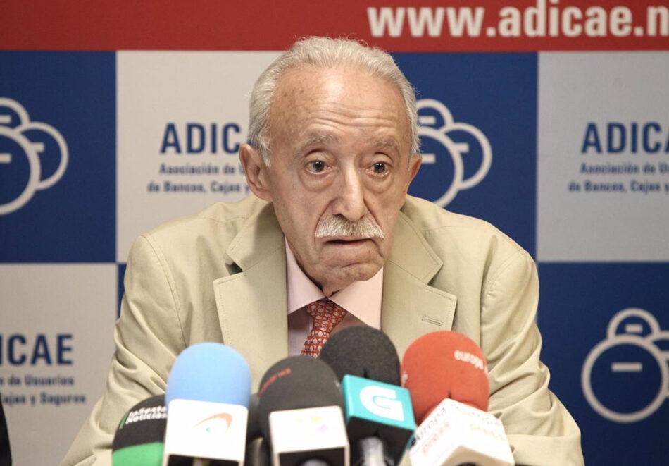 El presidente de Adicae, Manuel Pardos, investigado por fraude en subvenciones y falsedad documental