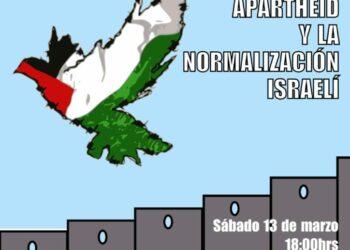 Acto contra el apartheid y la normalización israelí