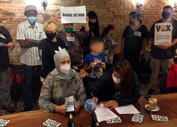 Unitat contra el feixisme: Solidaritat amb el #RavalvsVOX