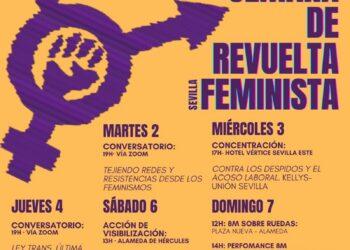 Asamblea Feminismos Diversos Sevilla: actividades reivindicativas de cara a la Huelga General Feminista