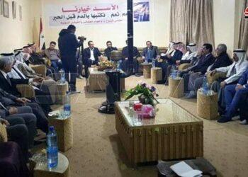 Junta de Tribus de Siria ratifica apoyo al ejército sirio para expulsar a los ocupantes estadounidense y turco