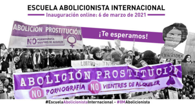 Inauguran en Cataluña la primera Escuela Abolicionista Internacional por la abolición de la prostitución