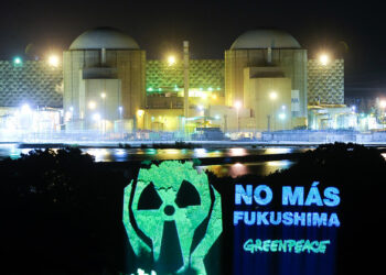 Un informe de Greenpeace señala Almaraz (Cáceres) entre las centrales nucleares europeas que no cumplen con todas las medidas de seguridad