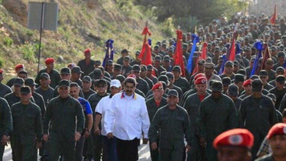 Venezuela pone en marcha ejercicio nacional en homenaje a Hugo Chávez