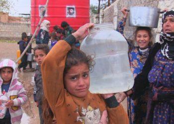 Turquía privó de agua potable a millón de sirios