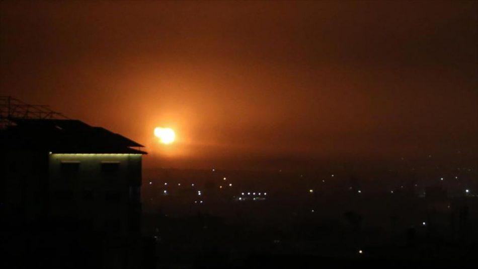 Israel ataca la Franja de Gaza con tanques y aviones de combate