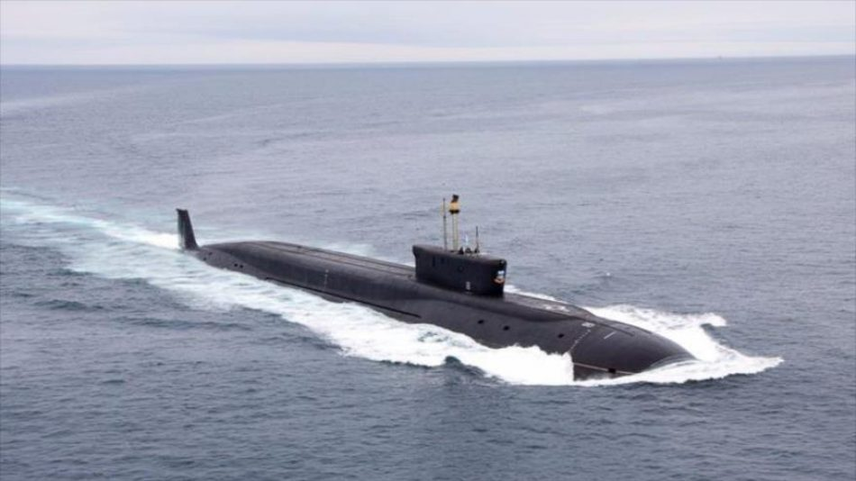 Submarino de propulsión nuclear ruso se dirige a la costa de EEUU