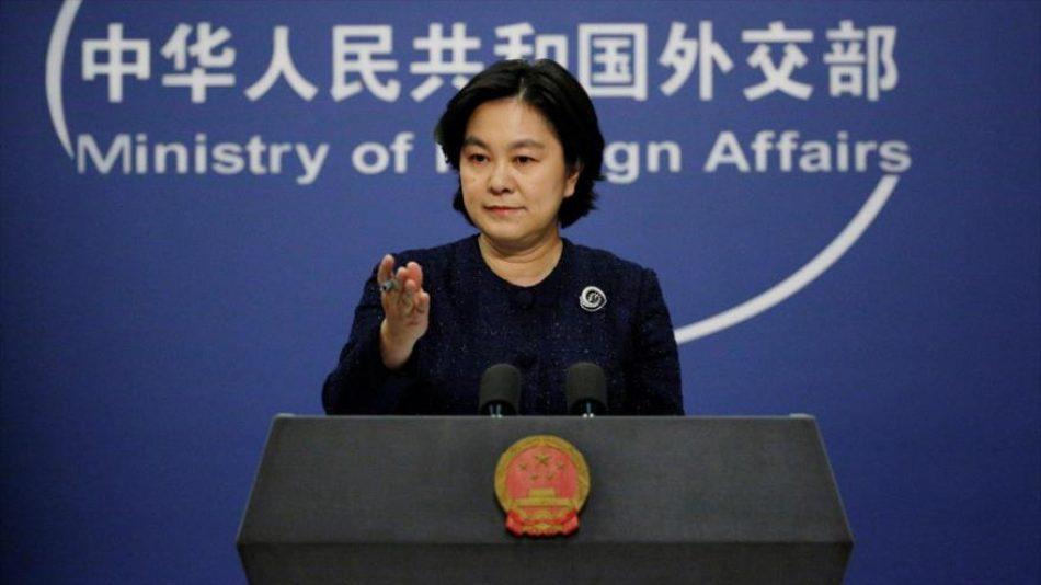 China urge a EEUU levantar todas las sanciones ilegales contra Irán