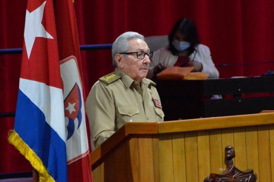 Raúl Castro ratifica que culmina su mandato al frente del Partido Comunista de Cuba
