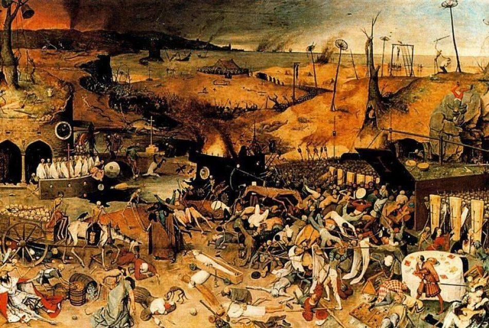 La orgía de la muerte. Negacionismo y peste en la Argentina