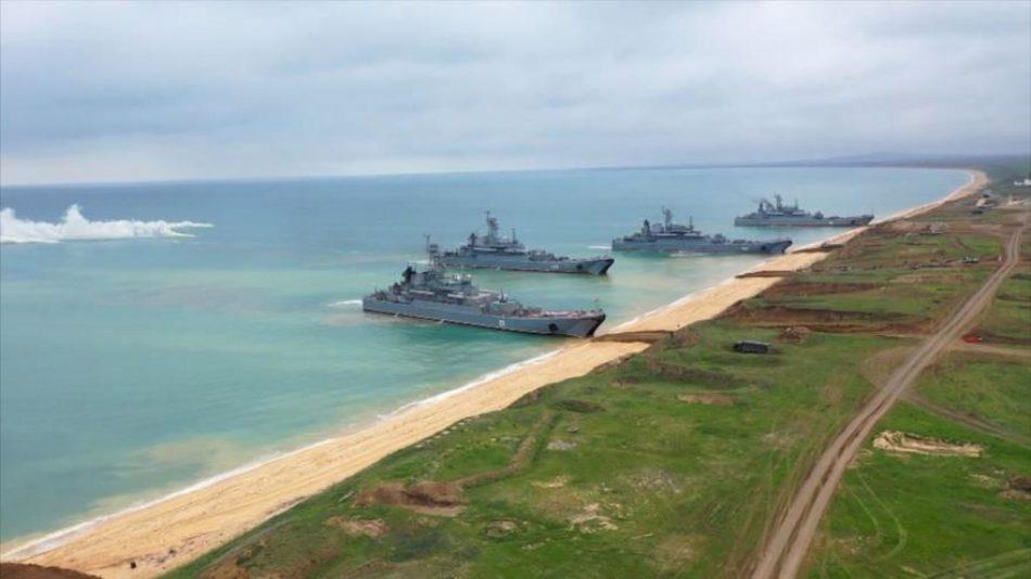 Rusia lanza maniobra a gran escala en Crimea