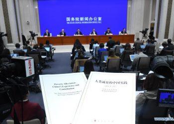 China publica libro blanco sobre mitigación de la pobreza