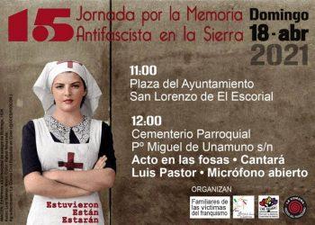 15 Jornada por la Memoria Antifascista en la Sierra