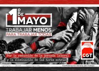 CGT trasladará sus actos centrales por el 1º de Mayo a Ceuta
