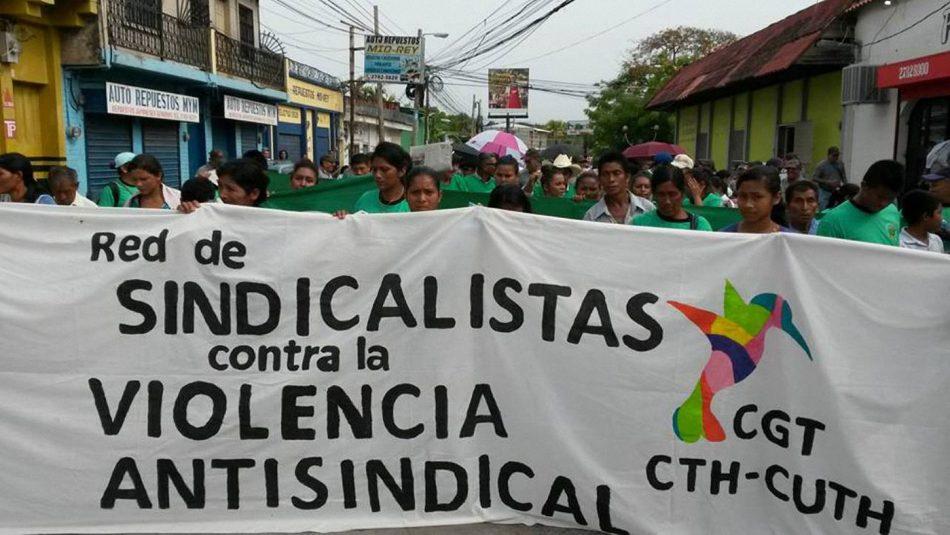 Honduras: Ser sindicalista sigue siendo muy peligroso