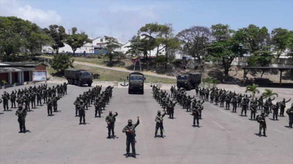 Venezuela envía más tropas a Apure contra grupos armados colombianos