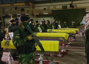 Venezuela confirma muerte de ocho militares en combates en Apure