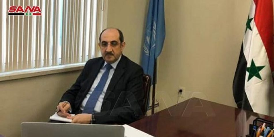 Siria reitera llamado para levantar medidas coercitivas occidentales