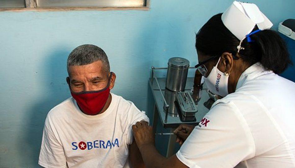 Cuba comienza aplicación de segunda dosis de vacunas cubanas contra la pandemia
