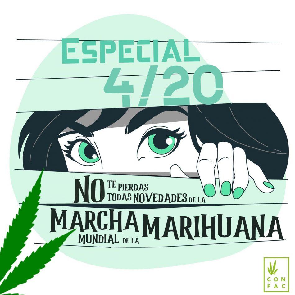 Arrancan las jornadas cannábicas de #MarihuanaEnMarcha