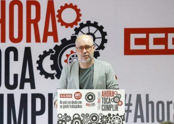 """Unai Sordo: «Un país moderno y un Gobierno progresista no pueden coexistir con el actual modelo laboral. Hay que derogar la reforma laboral"""""""