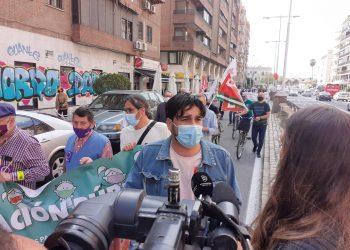"""Ismael Sánchez: """"Salimos hoy a la calle a defender la educación pública frente a los ataques y recortes de la Junta de Andalucía"""""""
