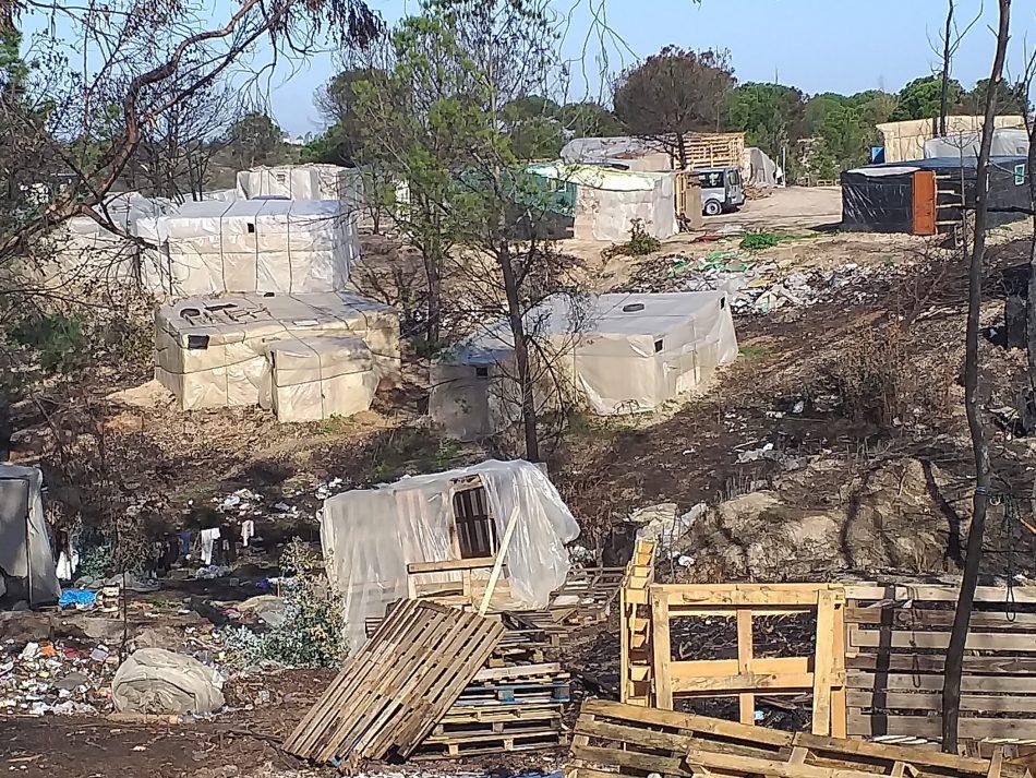 Verdes EQUO califica de dantesca la situación de los asentamientos de inmigrantes en Andalucía