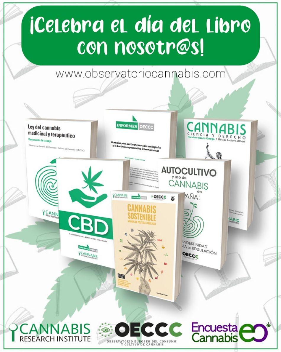 «Lee gratis sobre Marihuana y ayuda con tu puntuación»: Lanzamiento de Campaña activista en el día del libro