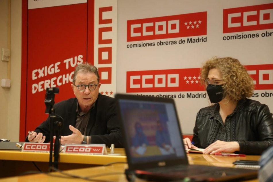 """CCOO quiere que el 4 de mayo se vote """"con libertad"""" en Madrid"""