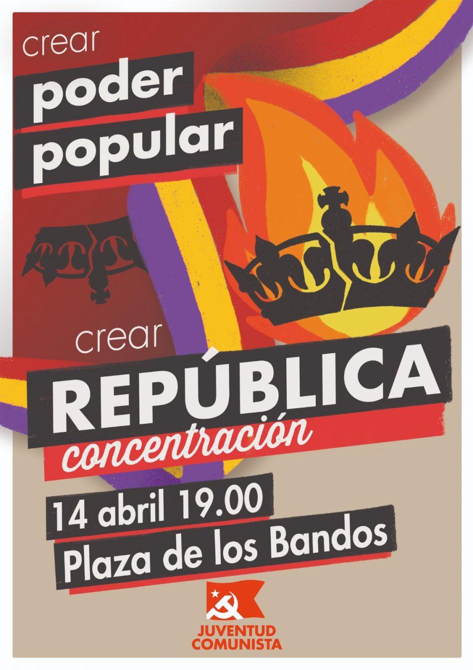 14 de Abril: Concentración «crear República» en Salamanca