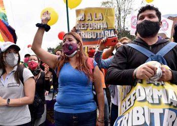 Sindicalistas colombianos anunciaron segundo día de Paro Nacional