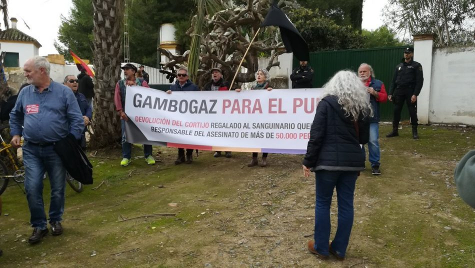 Podemos Andalucía exige revertir el expolio de Queipo de Llano en Gambogaz