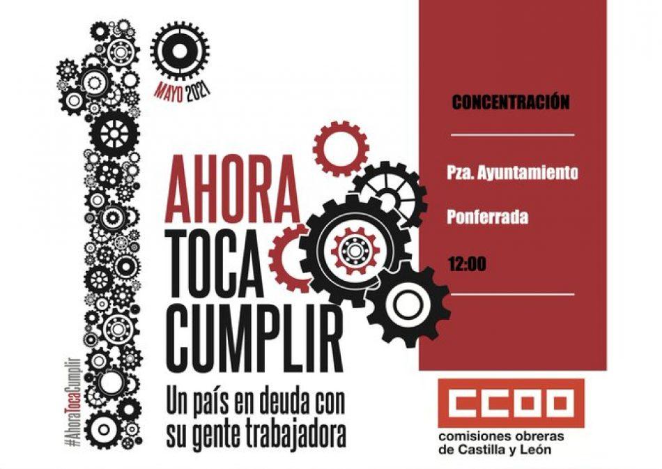 El PCE de León llama a luchar contra la precariedad laboral este 1 de mayo en Ponferrada y León