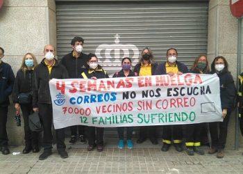 La Vaga indefinida de Correus Sabadell s'estén a les Unitats de Repartiment de Terrassa