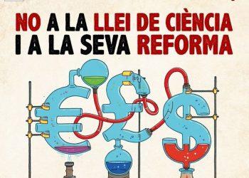 Protesta contra la llei de la ciència i la tecnologia i la seva reforma