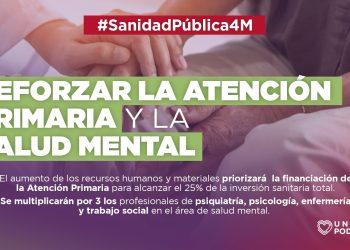 Unidas Podemos propone una cobertura pública y gratuita de salud bucodental y salud mental
