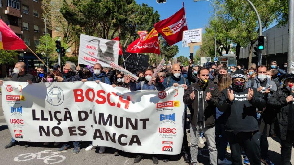 """Enrique Santiago denuncia el """"proceso claro de deslocalización"""" de Bosch en España y advierte de que para impedir cierres así """"es imprescindible avanzar en la reforma laboral"""""""