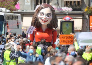 La Marea Blanca reclama políticas sanitarias coherentes frente a la pandemia en Madrid