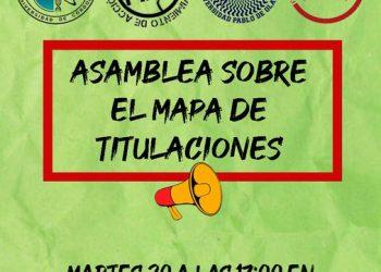 La Coordinadora Estudiantil Sevillana y consejos andaluces se oponen al nuevo mapa de titulaciones anunciado por la Consejería de Universidades